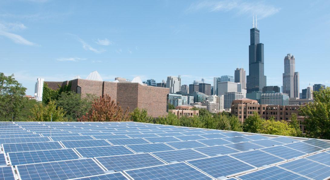 solar panels on Douglas Hall