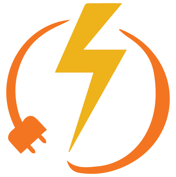 CAIP strategy 1.0 Energy Efficiency and Conservation Logo: electrical plug with lightning bolt