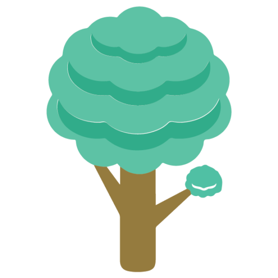 icon of a tree