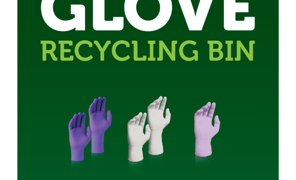 Nitrile Glove Recycling poster