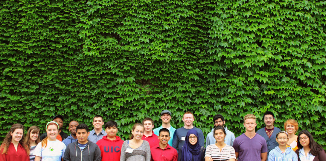 The Summer 2014 cohort of SIP students