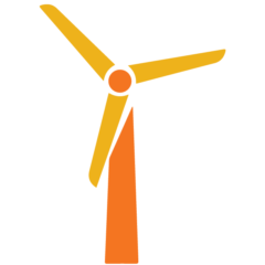 wind turbine icon for strategy 2.0