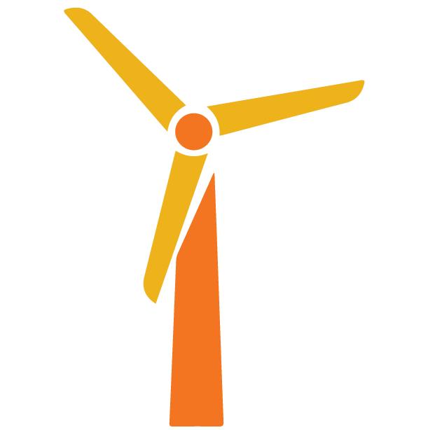 CAIP strategy 2.0 logo: wind turbine