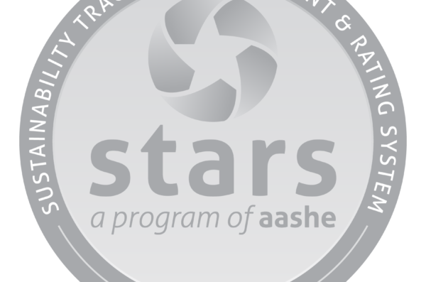 Sustainabilty, Tracking, assessment, and reporting system. STARS program of AASHE. Silver award.
