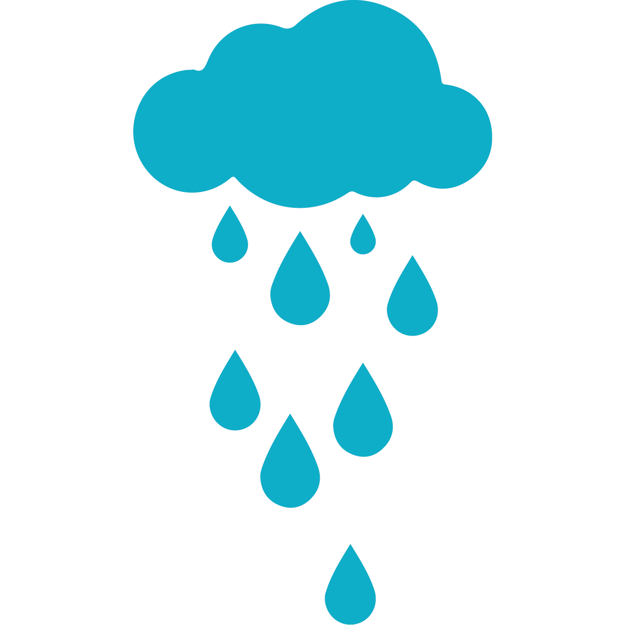 CAIP Strategy 7.0 logo: rain cloud