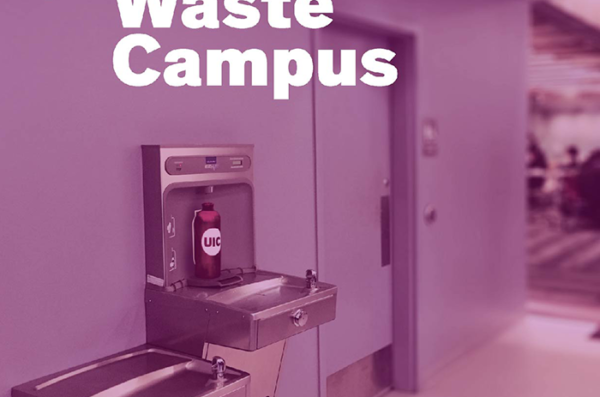 Zero Waste Campus sign