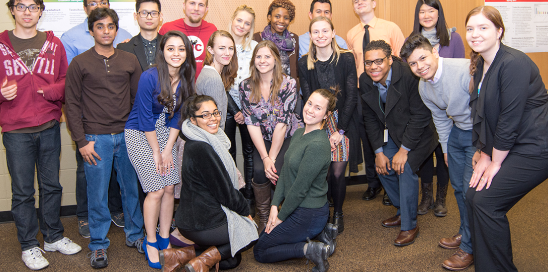 The Spring 2016 cohort of SIP students