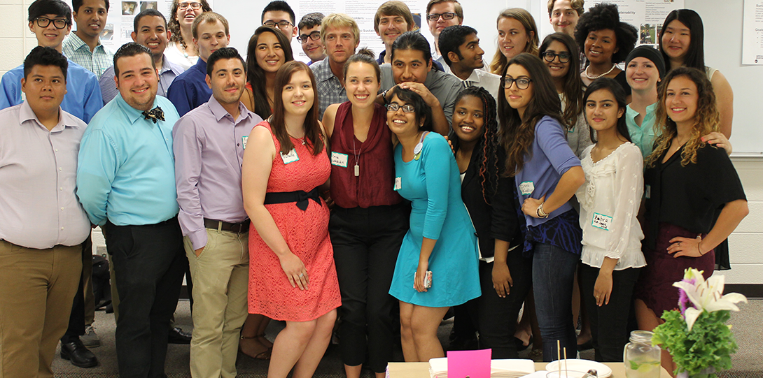 The Summer 2015 cohort of SIP students