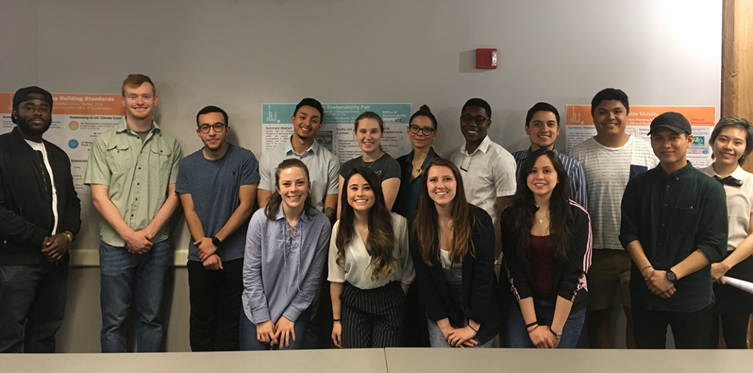 The Spring 2018 cohort of SIP students
