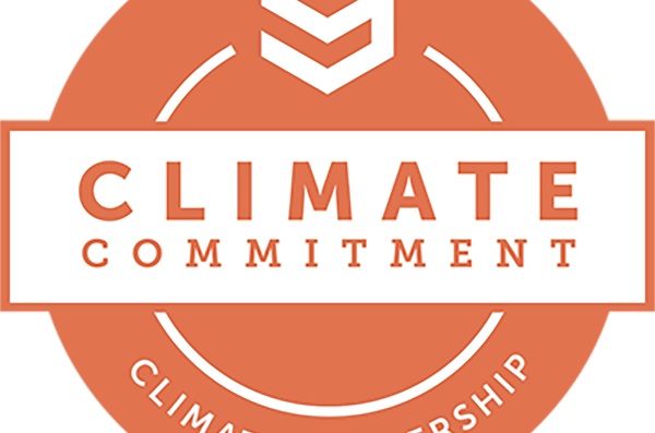 Second Nature's Climate Comitment: Climate Leadership logo