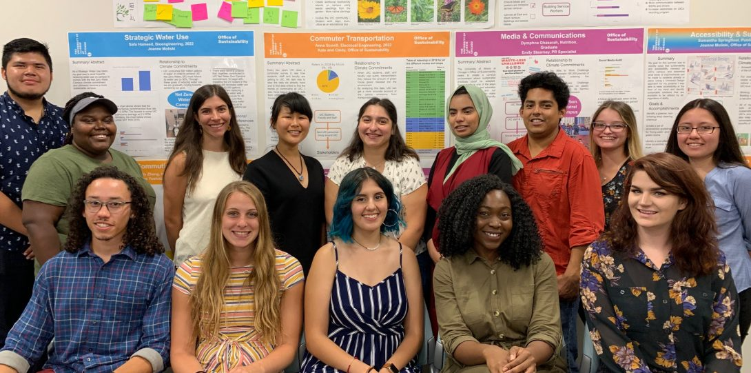 The Summer 2019 cohort of SIP students