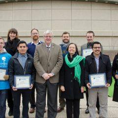 winners of the US EPA's Campus RainWorks Challenge