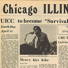 Chicago Illini  Newspaper, April 20, 1970 (UIC University  Library)